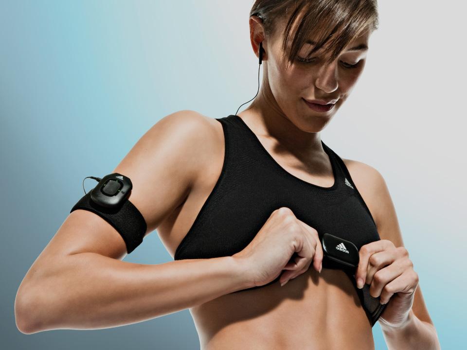 Adidas miCoach : Fitness Web App